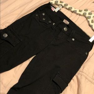 True religion black jeans! Great condition